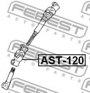 AST-120 FEBEST - WAŁ NAPĘDOWY DOLNY TOYOTA COROLLA 5D ZZE122 2001.10-2007.02