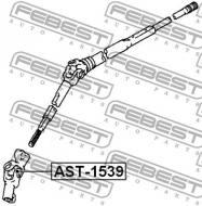 AST-1539 FEBEST - KRZYŻAK KOLUMNY KIEROWNICZEJ TOYOTA CRESTA GX90,JZX9,LX90,SX