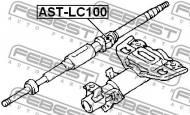 AST-LC100 FEBEST - KRZYŻAK KOLUMNY KIEROWNICZEJ TOYOTA LAND CRUISER 100 HDJ100,
