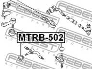 MTRB-502 FEBEST - OSŁONA KOŃCÓWKI DRĄŻKA MITSUBISHI CHALLENGER K90 1996.05-200