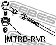 MTRB-RVR FEBEST - OSŁONA KOŃCÓWKI DRĄŻKA MITSUBISHI LANCER,LANCER CEDIA CS,CT