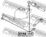 NTRB-Y60 FEBEST - OSŁONA KOŃCÓWKI DRĄŻKA NISSAN SAFARI Y60 1989.07-1999.02 AR