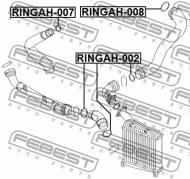 RINGAH-008 FEBEST - PIERŚCIEŃ USZCZELNIAJĄCY VOLKSWAGEN TOUAREG 2003-2010 MEX