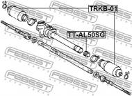 TT-AL50SG FEBEST - GUMA PRZEKŁADNI KIEROWNICZEJ TOYOTA CORSA/TERCEL EL5,NL50 19