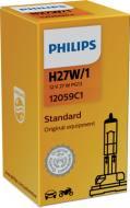 12059C1 PHILIPS - Żarówka H27W/1 12V 27W /PG13/