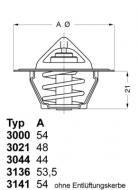 3000.90 WAHLER - TERMOSTAT 2/C/9