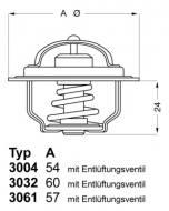 3004.92D1 WAHLER - TERMOSTAT FORD                                 2/C/9
