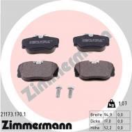 21173.170.1 - KLOCKI HAMULC. BMW 3 E30  82-93