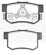 PF0463 MM - KLOCKI HAM. TYLNE HONDA CRV II 02/05-